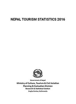Nepal Tourism Statistics 2016