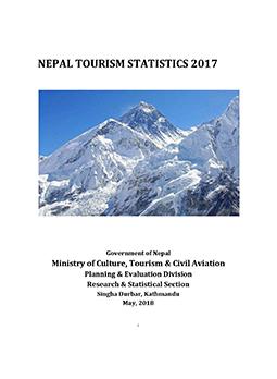 Nepal Tourism Statistics 2017